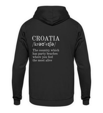 Croatia quote hoodie - Unisex Kapuzenpullover Hoodie-1624