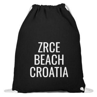 Zrce Beach Gym Bag - Baumwoll Gymsac-16
