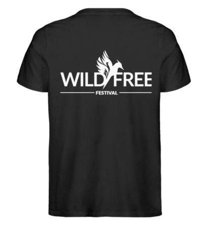 Wild&Free - Logo T-Shirt - Herren Premium Organic Shirt-16