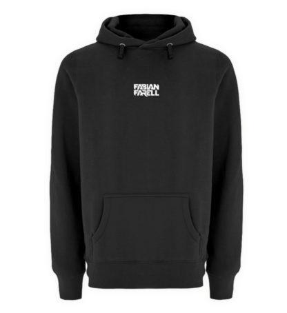 Fabian Farell Hoodie Black - Unisex Premium Kapuzenpullover-16