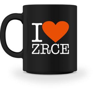 I Love Zrce Cup - Black - Tasse-16