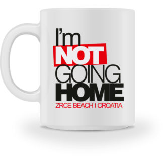 I-m Not Going Home Cup - White - Tasse-3