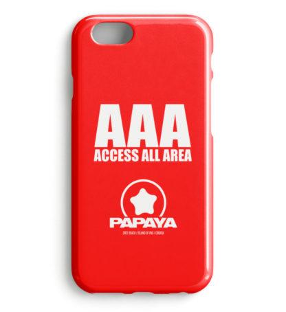 Access All Area - Premium Phone Case Red - Handyhülle Premium Case-5761
